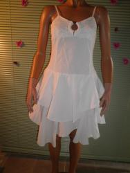 Robe blanche blanc du nil